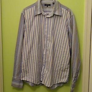Men's Ted Baker long sleeve button up shirt